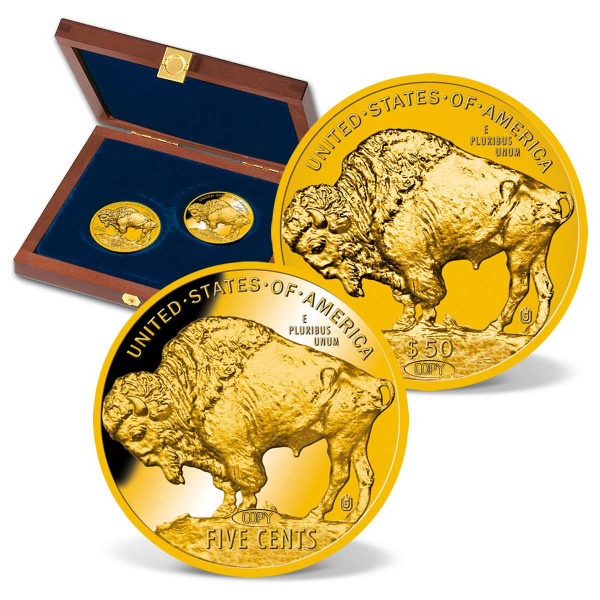 American Buffalo 100th Anniversary Replica Set US_9175514_1