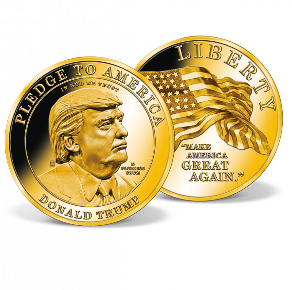 Donald Trump - Make America Great Again High-Relief Commemorative Coin US_8202502_1