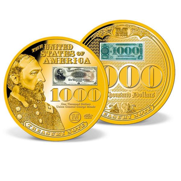 1890 $1,000 Treasury Note Commemorative Coin US_1942090_1