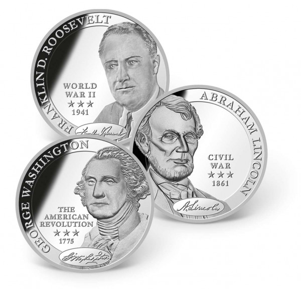 Commander in Chief Commemorative 3-Piece Coin Set US_1681291_1
