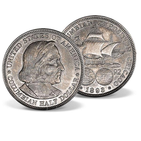 Columbian Exposition Silver Half Dollar US_2715095_1