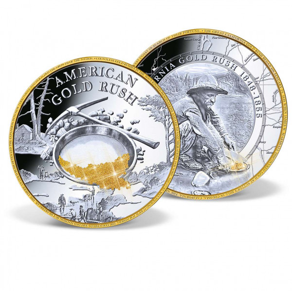 California Gold Rush Jumbo Commemorative Coin US_9178351_1
