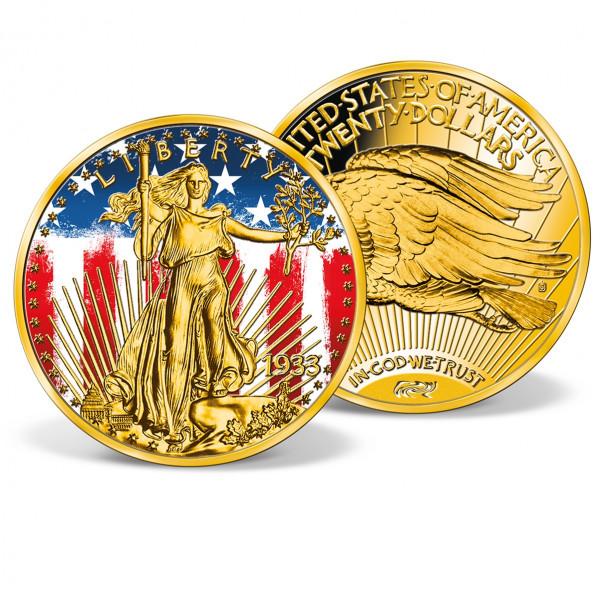 Patriotic 1933 Gold Double Eagle