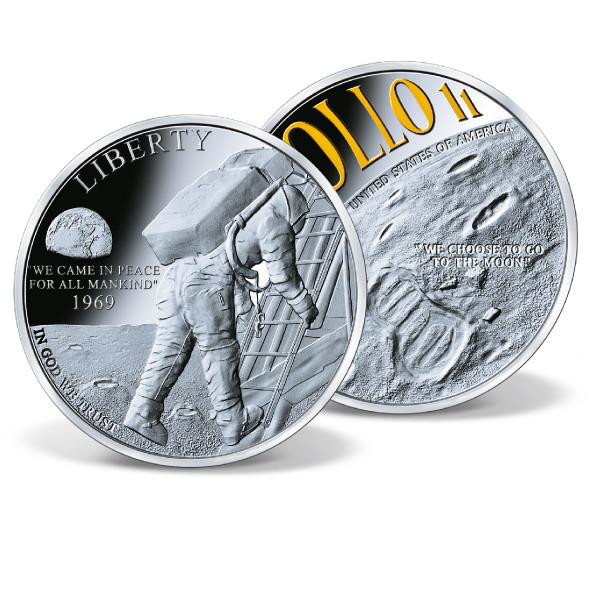 Apollo 11 - First Moon Walk Commemorative Coin