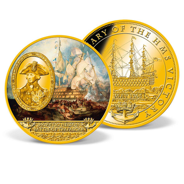 Horatio Nelson - Battle of Trafalgar Commemorative Coin US_1962203_1