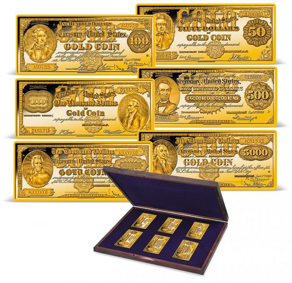 1882 Gold Certificate Ingot Set US_9171765_1