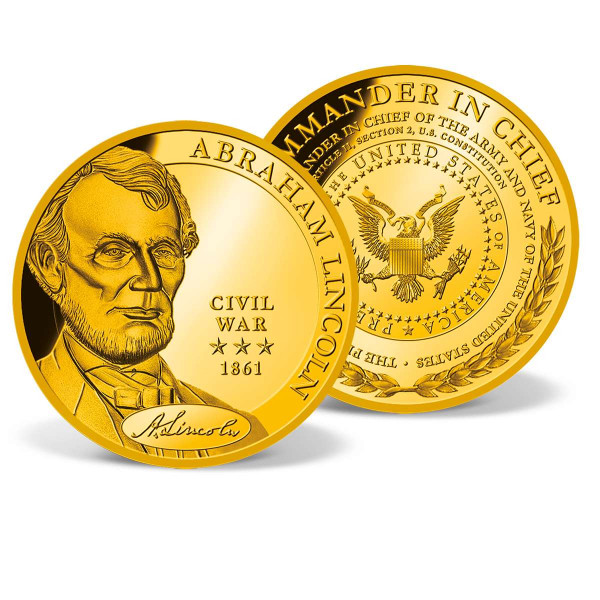 Abraham Lincoln - Commander in Chief Commemorative Gold Coin US_1712062_1