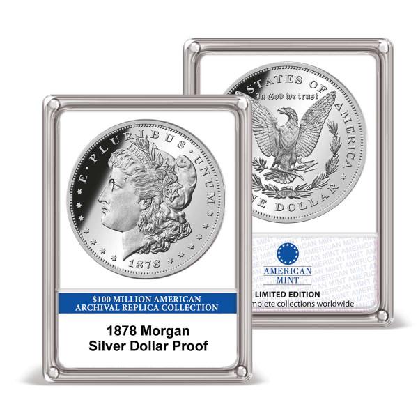 1878 Morgan Silver Dollar Proof Archival Edition US_8202209_6