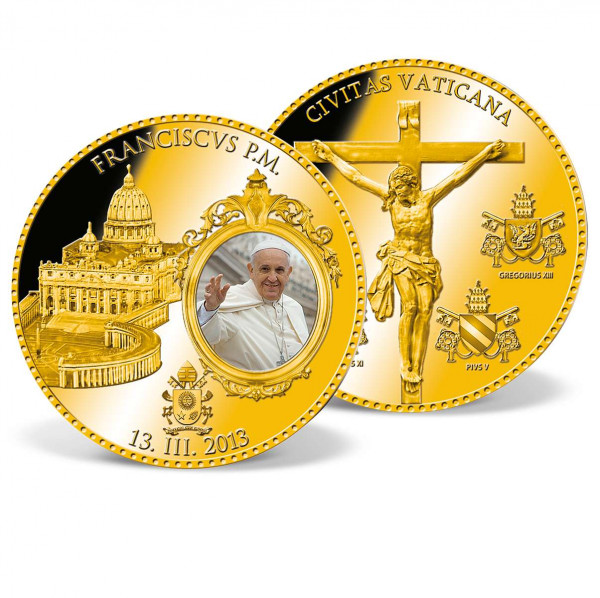 'Pope Francis' Commemorative Coin US_9531627_1