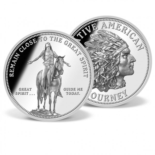 Remain Close to Great Spirit Commemorative Coin US_9172600_1