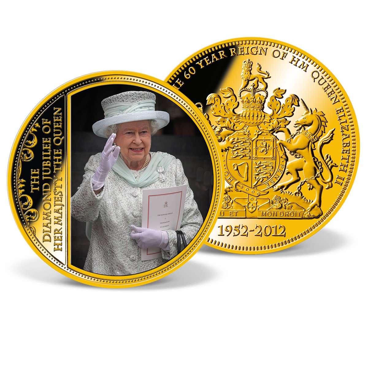 queen elizabeth diamond jubilee coin worth
