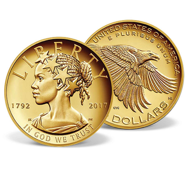 2017 American Liberty 225th Anniversary Gold Coin Solid