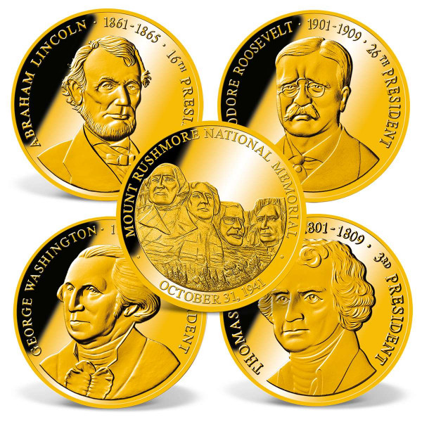 Faces of Mount Rushmore Coin Set US_1711568_1