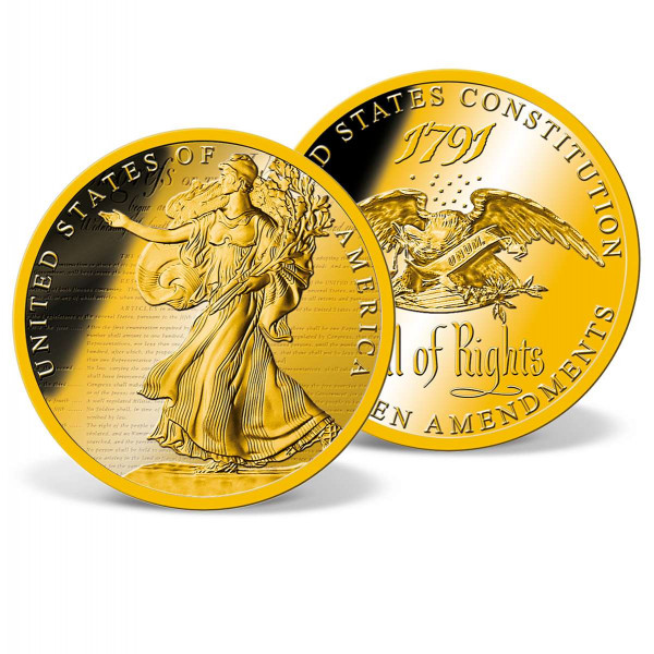The Bill of Rights Commemorative Coin US_9173279_1