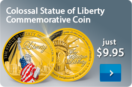 Colossal Statue of Liberty Commemorative Coin